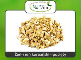Żeń-Szeń koreański korzeń pocięty - cena sklep  Panax Ginseng