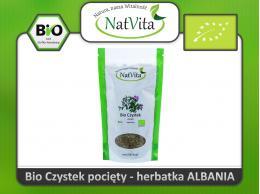 Czystek herbatka BIO pocięta Albania cena sklep zioło pocięte Cistus incanus