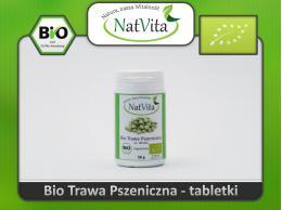 Młoda pszenica tabletki BIO - cena sklep uprawa ekologiczna zielona krew