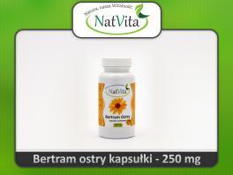 Bertram Ostry Kapsułki - cena sklep Anacylus tabletki celuloza