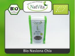 Nasiona Chia Bio szałwia hiszpańska - cena sklep błonnik Omega 3 i 6 ziarno