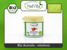 Acerola BIO mielona 18% naturalna witamina C - cena sklep certyfikat