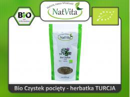 Czystek herbatka Bio - Cistus Incanus cena sklep Borelioza zioło pocięte