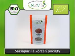 Sarsaparilla korzeń cięty - cena sklep - Smilax officinalis