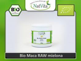 Maca BIO proszek RAW - cena sklep Premium surowa uprawa ekologiczna żółta korzeń z Peru