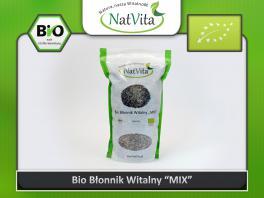 Błonnik witalny BIO - cena sklep - nasiona Babka płesznik plantago psyllium i łupiny babka jajowata plantago ovata