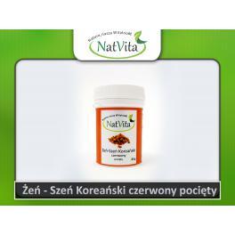 Żeń-Szeń koreański czerwony pocięty korzeń - cena sklep  Panax Ginseng