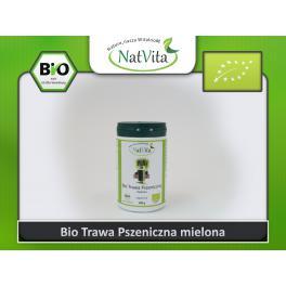 Młoda pszenica BIO w proszku - cena sklep właściwości zielone mleko