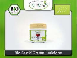 Pestki granatu BIO mielone - cena sklep sproszkowane