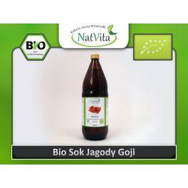 Wyprzedaż Sok jagody Goji Bio 100% Organiczny cena sklep Eko uprawa Lycium barbarum
