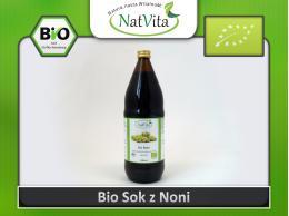 Sok z Noni Bio Tahitian - Morinda citrifolia cena sklep Polinesian eko organiczny hurt