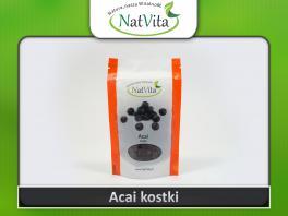 Owoce Acai kostki cena sklep naturalna przekąska