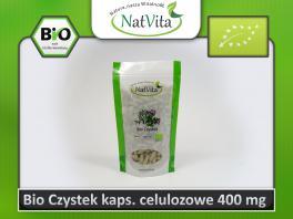 Bio Czystek Suplement Diety kaps.celulozowe nr.0/400mg/300szt. cena sklep cistus incanus celuloza
