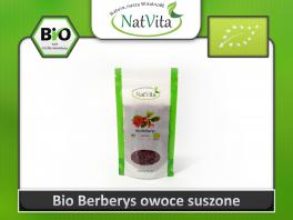 Bio Berberys owoce suszone polska cytryna 250g cena sklep
