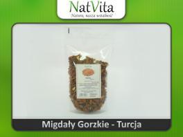 Migdały gorzkie - Amigdalina Witamina B17 cena sklep właściwości Certyfikat Turcja