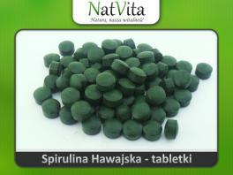Spirulina hawajska Pacifica tabletki - cena sklep kapsułki
