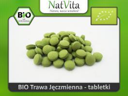 Młody jęczmień tabletki BIO - cena sklep uprawa ekologiczna zielona krew