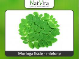 Moringa liście mielone sproszkowane - cena sklep moringa olejodajna