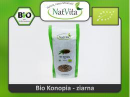 Ziarno konopii BIO, nasiona konopne - cena sklep niełuskane konopia