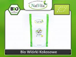 Wiórki kokosowe Bio cena sklep certyfikat ekologiczne