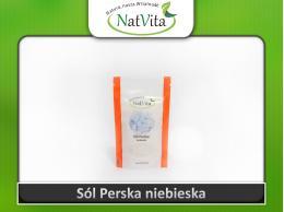 Sól Perska Niebieska naturalna 200g cena sklep