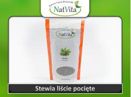 Stevia liście suszone pocięte
