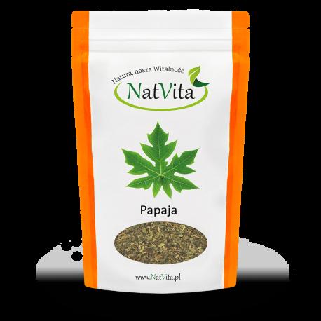 Liście papai - cena sklep herbata Papaina, papaja
