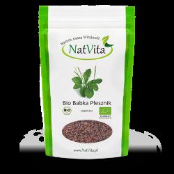 Psyllium nasiona BIO - babka płesznik czarna cena sklep naturalny błonnik