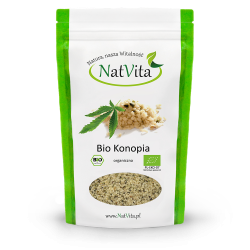 łuskane nasiona konopi, ziarno konopne BIO - cena surowe sklep Konopia
