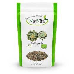 Karczoch Bio ziele pocięte organiczny cena sklep Cynara cardunculus certyfikat