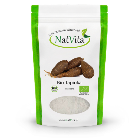 Bio Tapioka Skrobia z Manioku