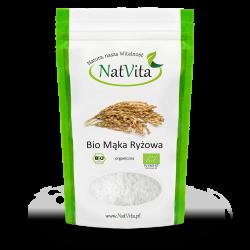 Mąka Ryżowa BIO pełnoziarnista