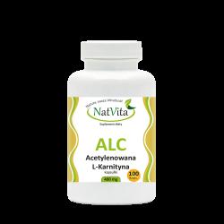 ALC Acetylenowana L-Karnityna kapsułki 400mg