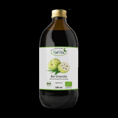 Graviola Bio sok z miąższem NatVita