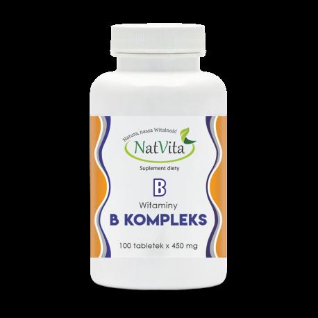 Witaminy B kompleks tabletki 450mg