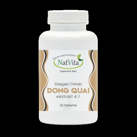Dzięgiel Chiński, Dong Quai ekstrakt 6:1 tabletki