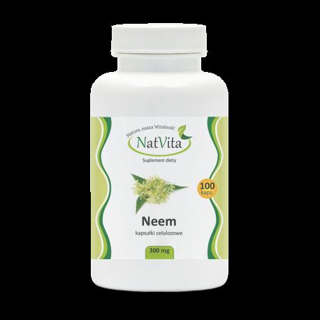 Neem kapsułki - Melia azadirachta celuloza cena sklep tabletki