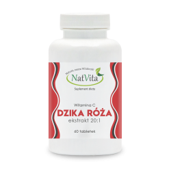 Dzika Róża ekstrakt 20:1 tabletki 300mg