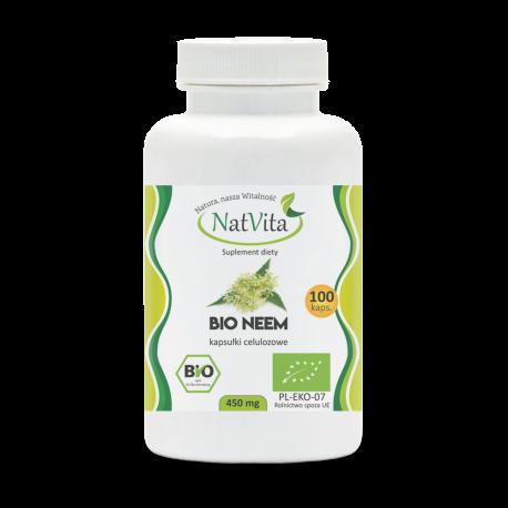 Neem Bio kapsułki celulozowe 450 mg