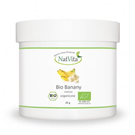 Bio Banany mielone - cena sklep puder bananowy