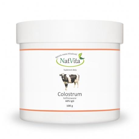 Colostrum siara bydlęca IgG 60% liofilizowane proszek cena sklep