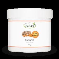 Kurkuma (więcej niż 5% kurkuminy) korzeń mielony
