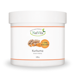 Kurkuma (ponad 5% kurkuminy) korzeń mielony
