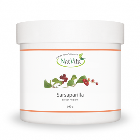 Sarsaparilla korzeń proszek - cena sklep - Smilax officinalis