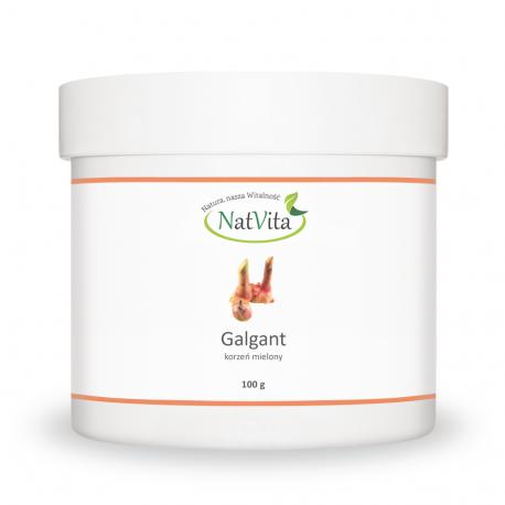 Galgant proszek cena sklep dieta Świętej Hildegardy Alpinia officinarum mielona