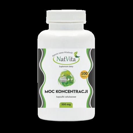 Moc Koncentracji kapsułki 500 mg
