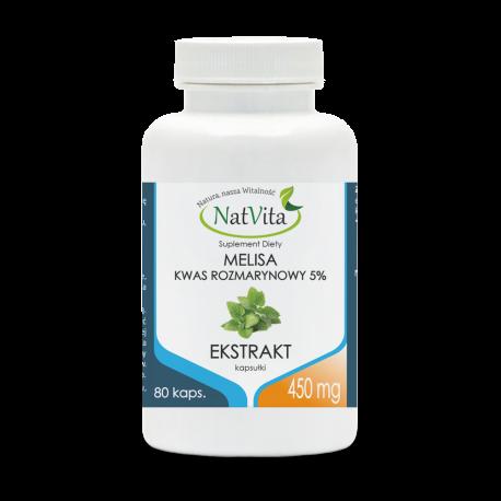 Melisa ekstrakt 450 mg/80 kapsułek
