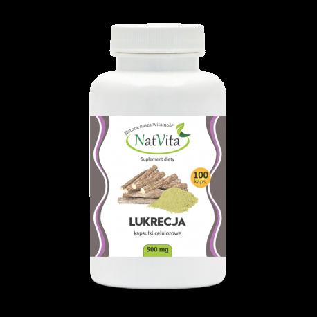 Lukrecja 500 mg/100 kapsułek
