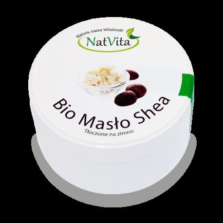 Masło Shea Bio nierafinowane surowe - cena sklep zimnotłoczone