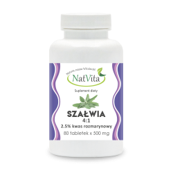 Szałwia 350 mg/ tablek